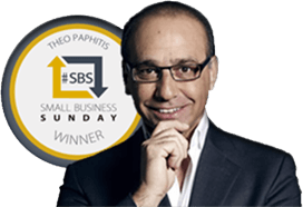 Winner of Theo Paphitis Small Business Award