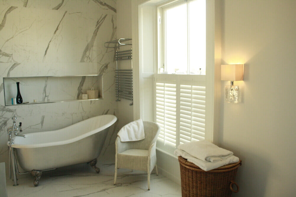 Bathroom Cafe-Style Shutters