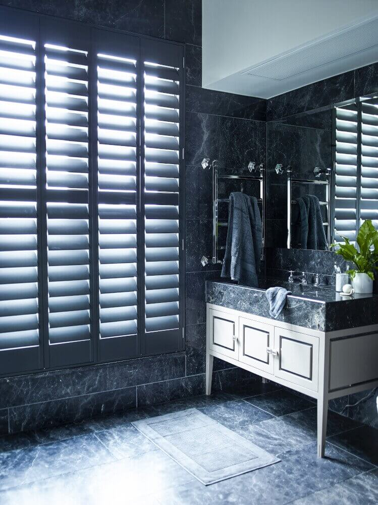 Bathroom Full-Height Shutters