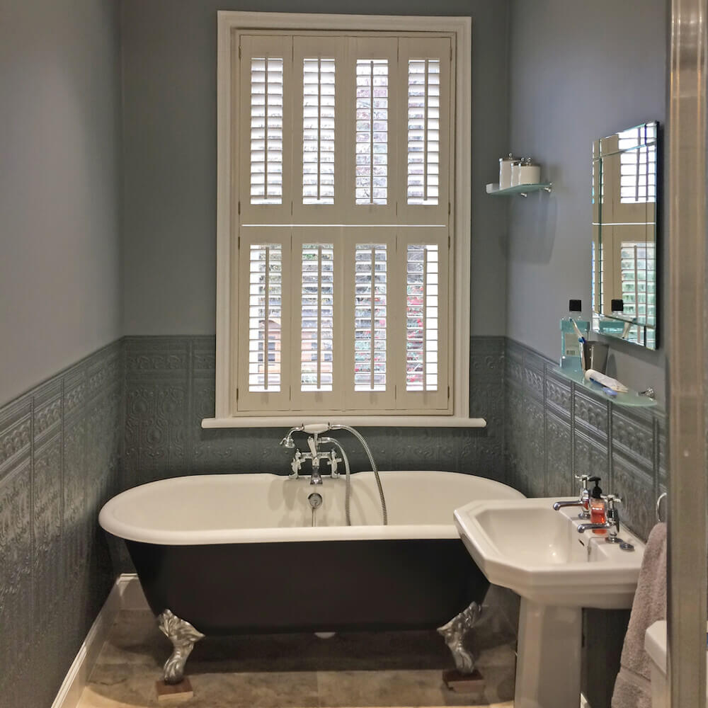 Bathroom Tier-on-Tier Shutters
