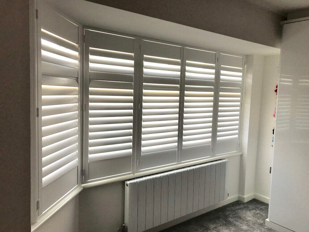 Bay Window Full Height Shutters