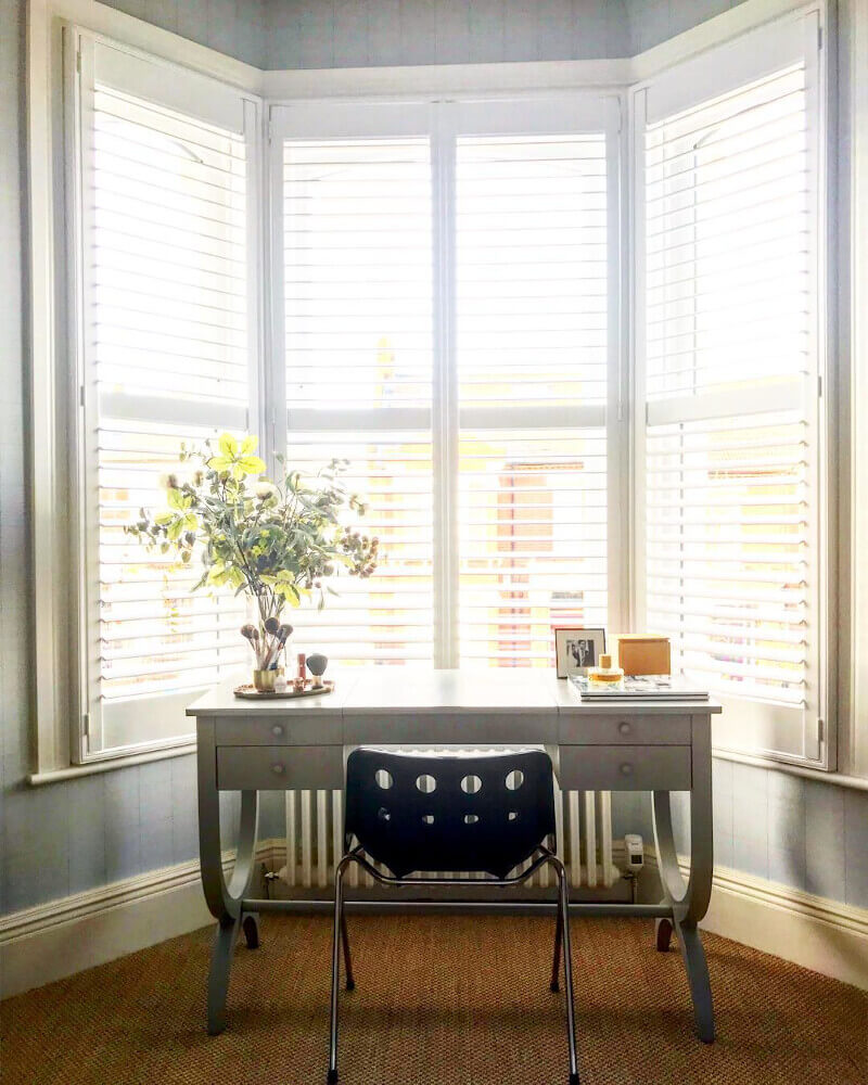 Bedroom Bay Window Shutters