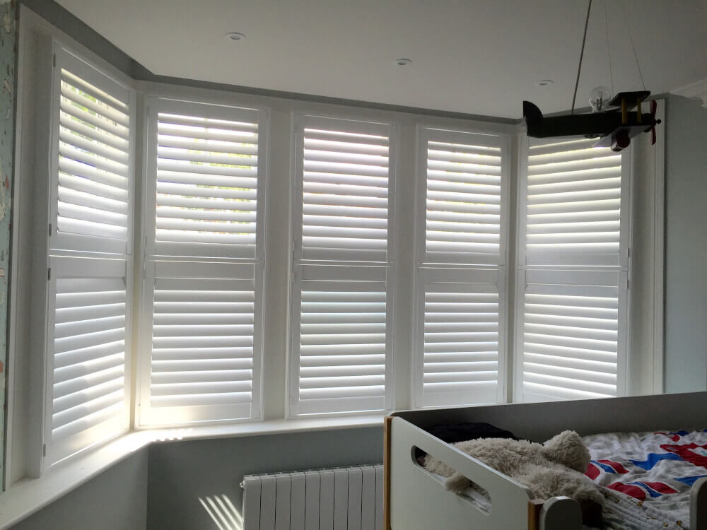 Bedroom Full Height Shutters
