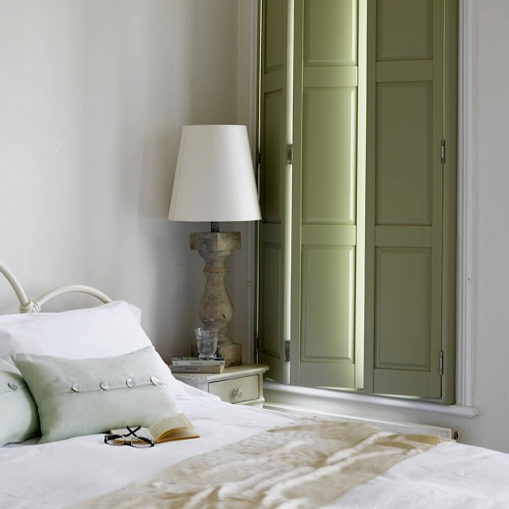 Bedroom Solid Shutters