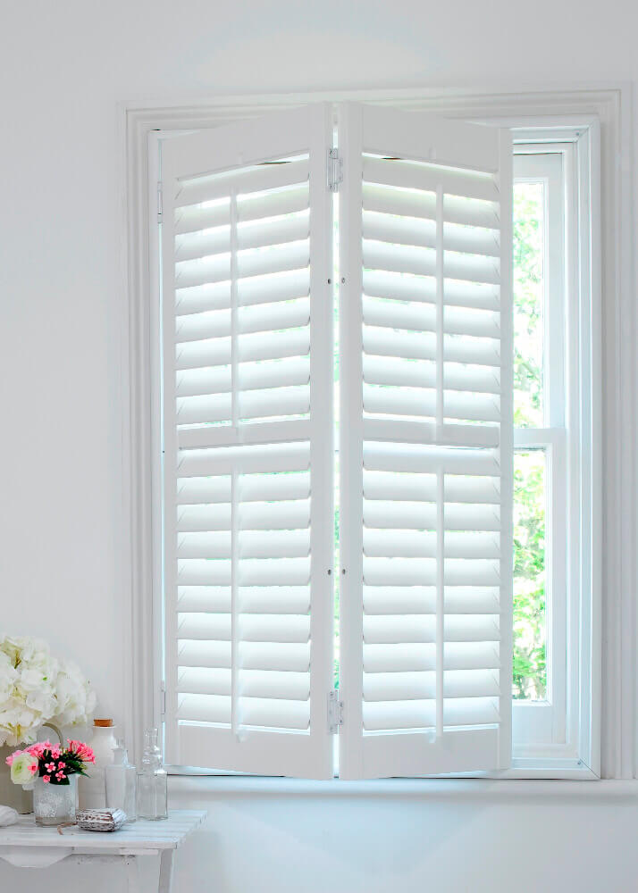 Full Height Hybrid Shutters