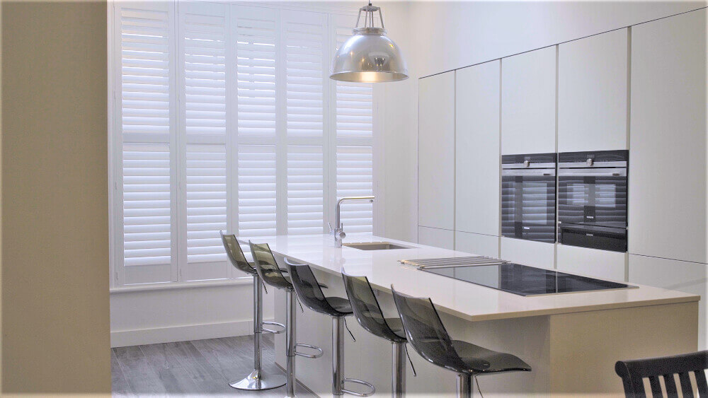 Kitchen Full-Height Hybrid Waterproof Shutters