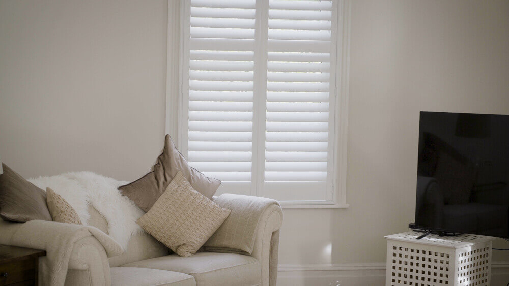 Living Room Full Height MDF Shutters