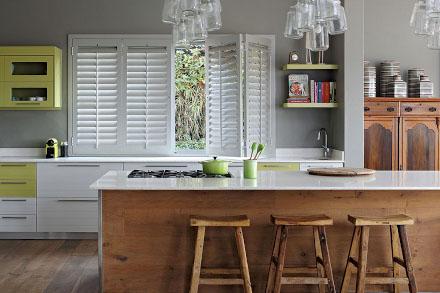 Kitchen shutters