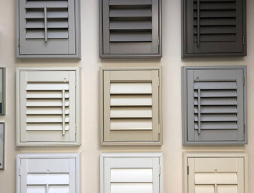 Shutter Colours and Finishes