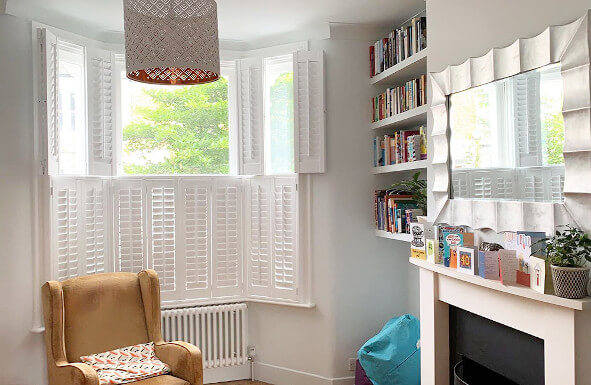 Shutters in Chigwell