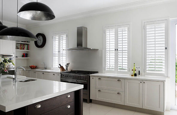 Shutters in Petts Wood