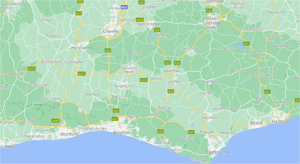 Sussex - Inshutters Maps