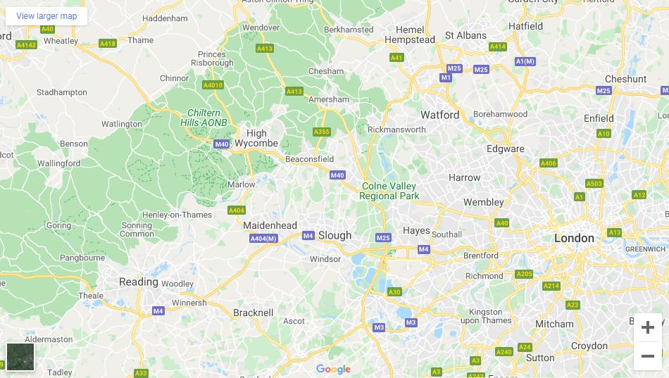 West London - Inshutters Maps
